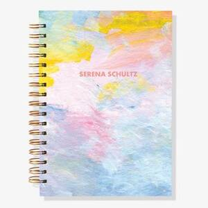12-Month Abstract Custom Planner