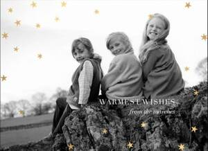 Nightly Warm Wishes Foil Photo Card