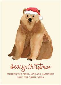 Beary Christmas Photo Card