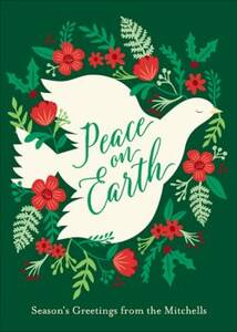 Peace Dove Holiday Card