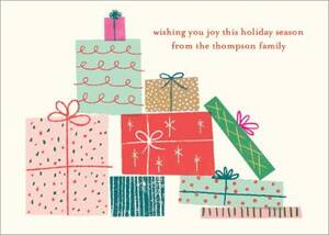 Gifts Holiday Card