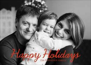 Happy Holidays Photo...
