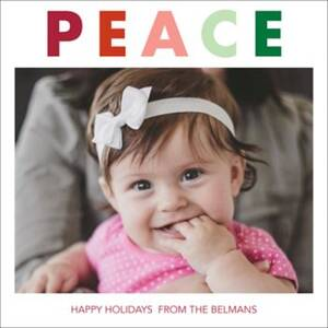 Peace Holiday Photo...