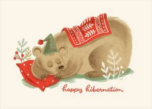 Bearable Holidays Card