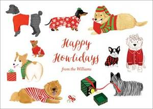 Happy Howlidays Holiday Card