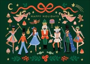 Nutcracker Characters Holiday Card