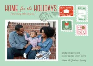 Home for the Holidays Photo Card