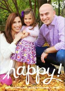 Happy Holiday Photo Card