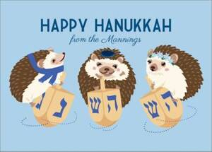Hanukkah Hedgehogs...