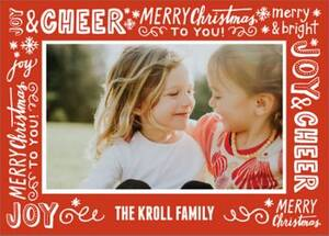 Holiday Messages Photo Card