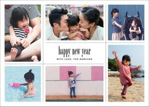 Big Picture New Year Photo Card