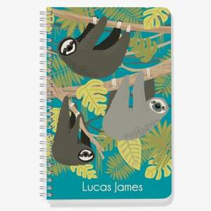 Sloth Custom Journal