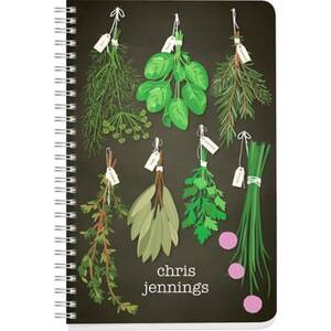 Herbs Custom Journal