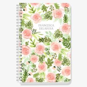 Floral Garden Custom Journal