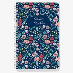 Night Floral Custom Journal