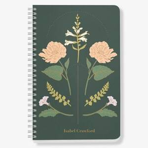 Vintage Floral Custom Journal