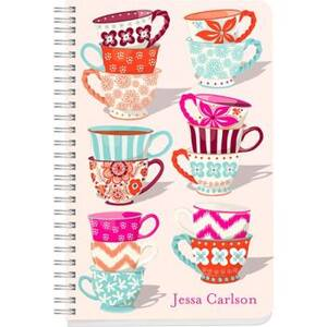 Tea Cups Custom Journal