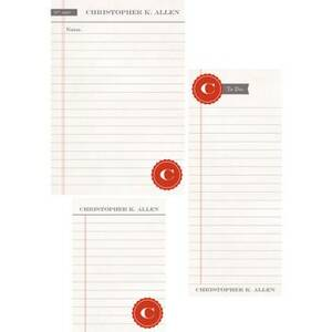 Dossier Mixed Personalized Note Pads