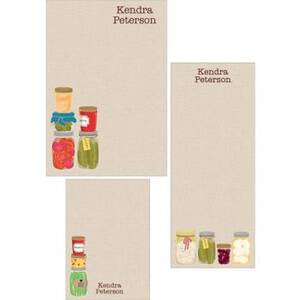 Canning Jars Mixed Personalized Note Pads