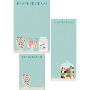 Candy Mixed Personalized Note Pads