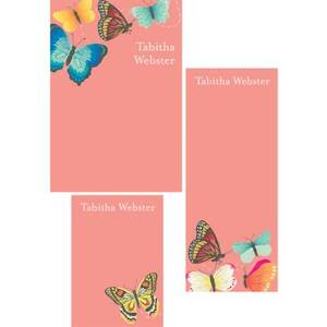 Butterflies Mixed Personalized Note Pads