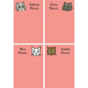Cats Personalized Note Pads