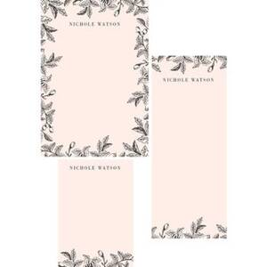 Garden Border Mixed Personalized Notepads