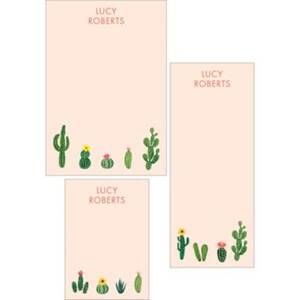 Cacti Mixed Personalized Notepads