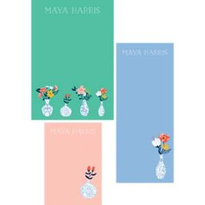 Vases Mixed Personalized Notepads