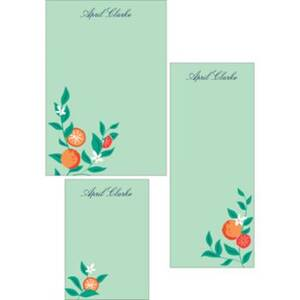 Oranges Mixed Personalized Notepads