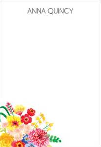 Spring Bouquet Personalized Notepad Sets