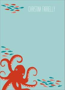 Octopus Stationery