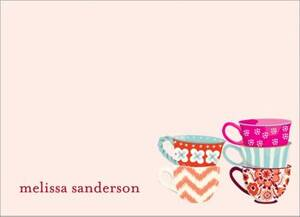 Tea Cups Stationery