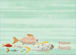 Fish Stationery