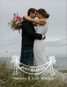 Just Married Banner...