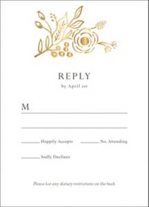 Marion Response Card