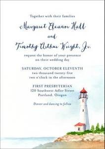 Lighthouse Wedding...