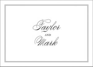 Black Tie Stationery