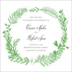 Miss Mimi Margeaux II Save the Date Card